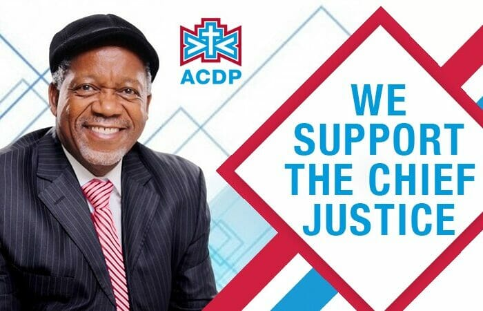 We support the Chief Justice.